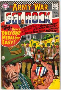 Our Army at War #178 (Mar-67) VF+ High-Grade Easy Company, Sgt. Rock