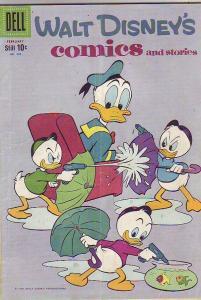 Comics and Stories, Walt Disney's #233 (Feb-60) VG+ Affordable-Grade Donald D...