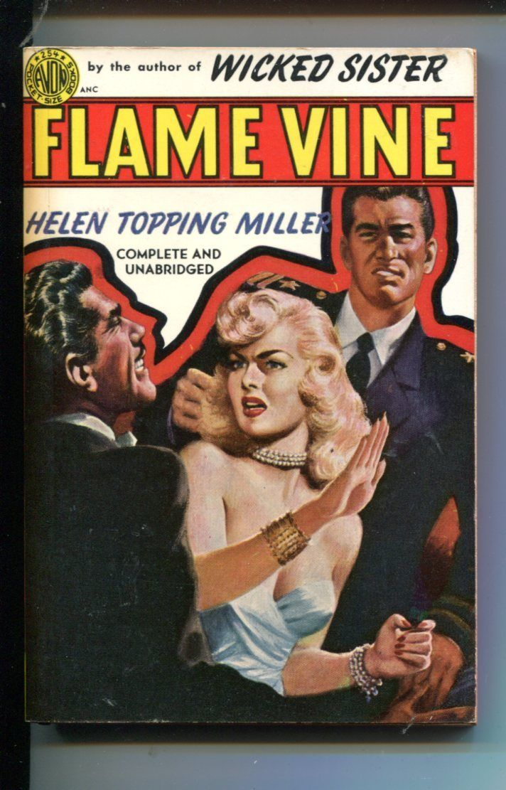 Flame vine 254 helen topping miller spicy good girl art vf hipcomic listing ccuart Choice Image