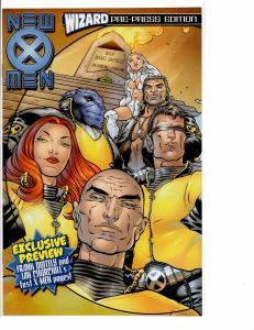 New X-men Wizard Pre-Press Edition NM- (9.2)