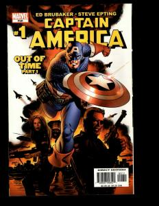 9 Captain America Marvel Comics Out of Time 1 Vol 5 #10 Vol 3 # 1 6 7 +MORE J338