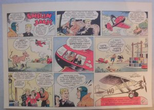 Smilin' Jack Sunday Page by Zack Mosley from 3/8/1936 Half Page Size!