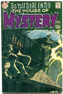 House of Mystery #179 1969- 1st BERNI WRIGHTSON- Neal Adams VG