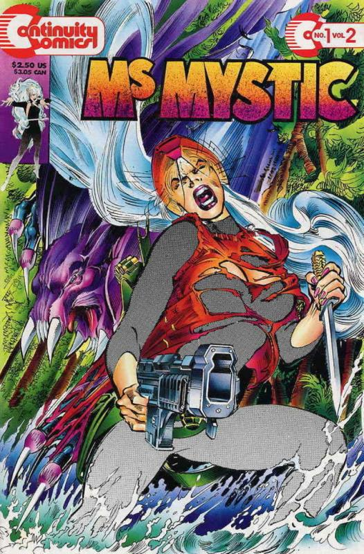 MS MYSTIC #1, NM, Continuity, Femme Fatale, Neal Adams, 1993, more indies in sto