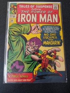 Tales of Suspense #55 3RD APP The MANDARIN! KEY High Grade VF- 7.5 1964 Iron Man