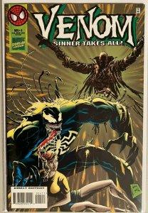Venom sinner takes all! #4 6.0 FN (1995)