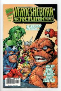 Heroes Reborn #4 (Marvel, 1997) NM