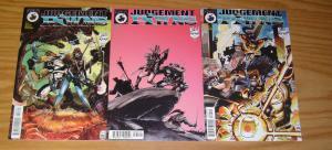 Judgement Pawns #1-3 VF/NM complete series - antarctic press - print run: 3,000