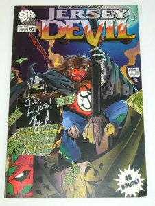Jersey Devil #2 VF/NM; signed by Tony Digerolamo - South Jersey Rebellion