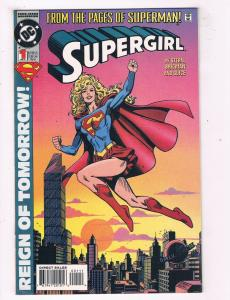 Supergirl #1 VF DC Comics Reign Of Tomorrow Comic Book Stern Feb 1994 DE44