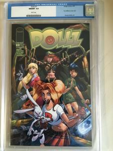 DOLLZ #1 CGC 9.8 (2001) IMAGE DC COMICS