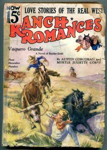 Ranch Romances Pulp September 1 1935- Vaquero Grande FAIR