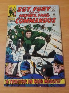 Sgt. Fury #32 ~ VERY GOOD - FINE FN ~ (1966, Marvel Comics)