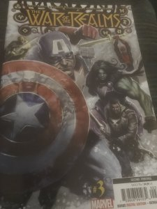 Marvel The War of The Realms #3 Mint Hot