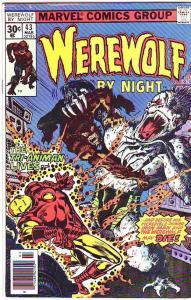 Werewolf by Night #43 (Mar-77) FN+ Mid-Grade Werewolf