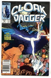Cloak and Dagger #2-1985 Marvel Comic Book newsstand NM-