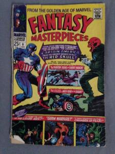 FANTASY MASTERPIECES #6 - CAPTAIN AMERICA vs RED SKULL - Marvel Comics