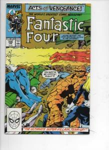 FANTASTIC FOUR #336 VF/NM Acts of Vengeance, 1961 1990 Marvel, more FF in store