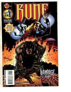 13 Malibu Comics Rune 1 2 3 4 Infinity Nightman 1 2 3 4 Infinity Gambit 1 2+ DB9