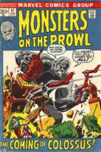 Monsters on the Prowl #17, VG+ (Stock photo)