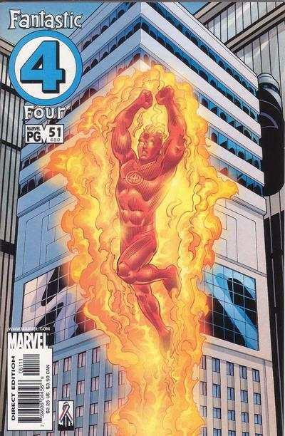 Fantastic Four (1998 series) #51, NM + (Stock photo)