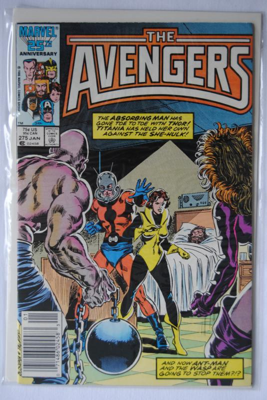 The Avengers, 275