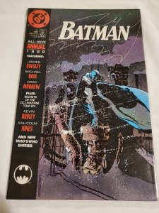 Batman Annual 13 Near Mint- Art by Malcolm Jones III