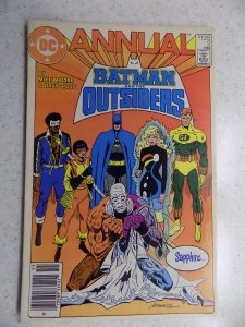 BATMAN AND THE OUTSIDERS ANNUAL # 2