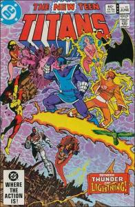 DC THE NEW TEEN TITANS (1980 Series) #32 VF/NM