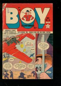 BOY COMICS #83-1952-CHARLES BIRO-IRON JAW-CRIMEBUSTER VG