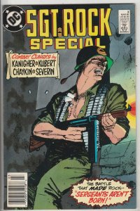 Sgt. Rock Special #2 (Jan-88) NM- High-Grade Sgt. Rock