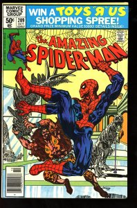 The Amazing Spider-Man #209 (1980)