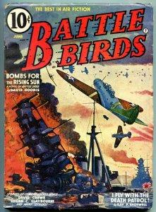 Battle Birds Pulp June 1942- Bombs for the Rising Sun- Death Patrol