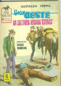 Gran Oeste numero 255: Un solitario apodado Gringo