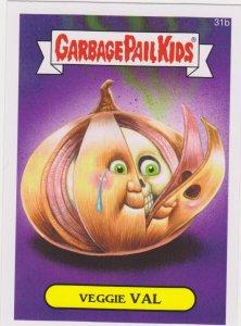 2015 Garbage Pail Kids  #31b Veggie Val