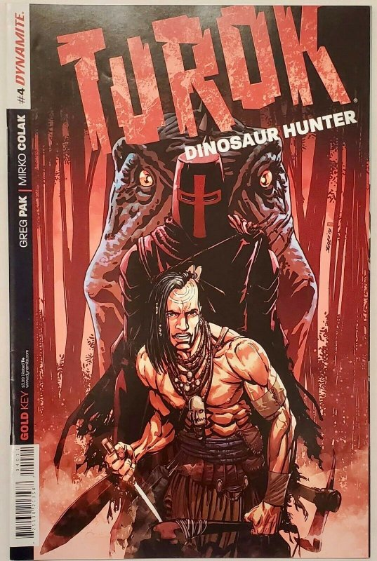 *Turok (2014, Dynamite) 1 2nd Ed, 2-10