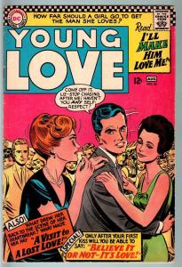 Young Love #56-VG-GREAT COVER-DC Romance VG
