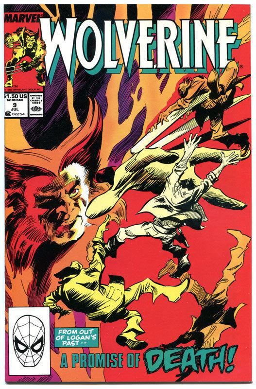 WOLVERINE #9, NM, Gene Colan, 1988, X-men, Mutant, more in store