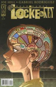Locke & Key: Head Games #2 VF; IDW | save on shipping - details inside