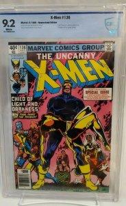 UNCANNY X-MEN #136 - CBCS 9.2 GRADE - NM WHITE PAGES - NEWSSTAND
