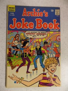 ARCHIE'S JOKE BOOK # 125 ARCHIE JUGHEAD VERONICA BETTY RIVERDALE CARTOON