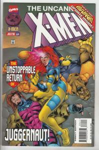 X-Men #334 (Jul-96) NM+ Super-High-Grade X-Men