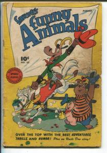 Fawcett's Funny Animals #52 1947-Sherlock The Monk-FR