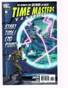 Time Masters Vanishing Point # 6 DC Comic Books Hi-Res Scans Modern Age WOW!! S3