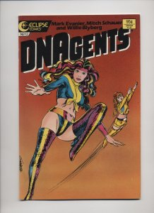 The New DNAgents #12 (1986)