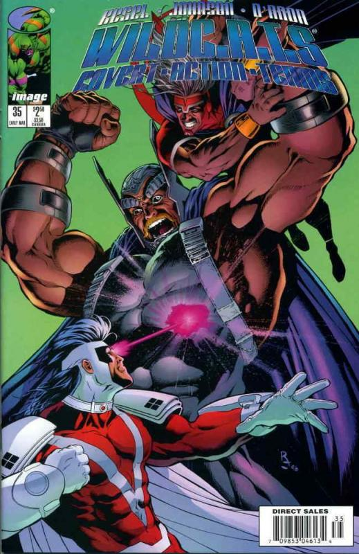 WildC.A.T.s #35 VF/NM; Image | save on shipping - details inside