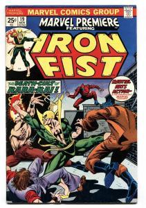 Marvel Premiere #19- IRON FIST- 1st Lee Wing F/VF