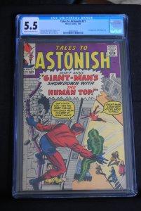 Tales to Astonish, 51, CGC 5.5, Rare!