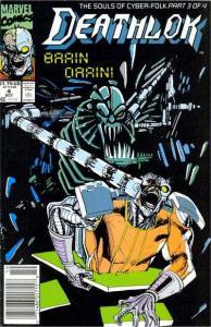 Deathlok (1991 series) #4, VF+ (Stock photo)