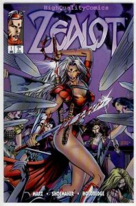 ZEALOT #1, NM+, Terry Shoemaker, Femme Fatale, Good girl, Ron Marz, 1995
